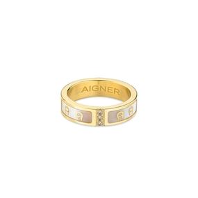 خاتم بيانكا مطلي بالذهب - 54